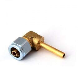 Conector termoplastic 90 FI6-6mm